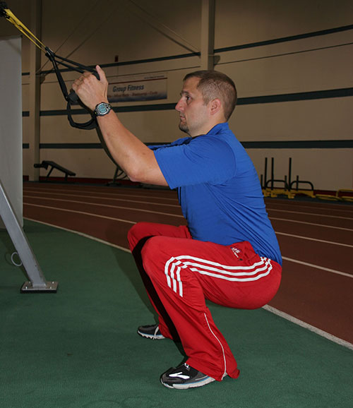TRX-squat