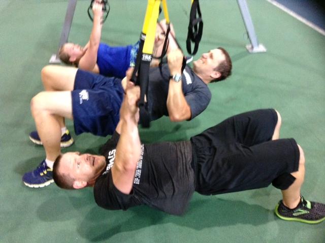 NIFS staff summer showdown workout