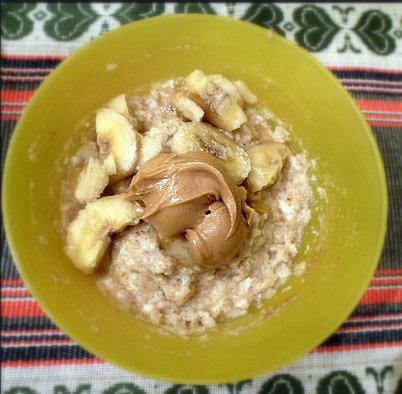peanut oats