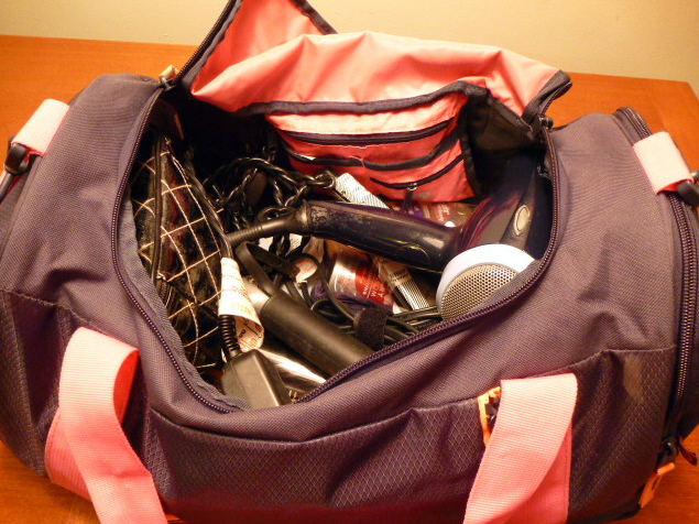 workout bag