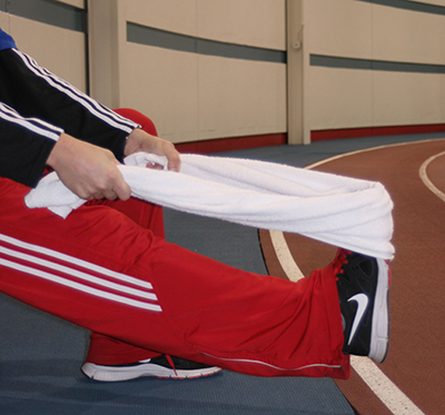 shin spint stretch