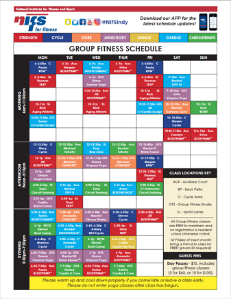 GF Schedule_Dec