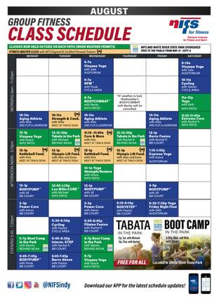 GF Schedule_Instagram_August