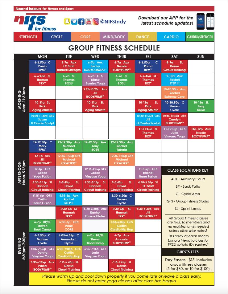 GF Schedule_SS 040519