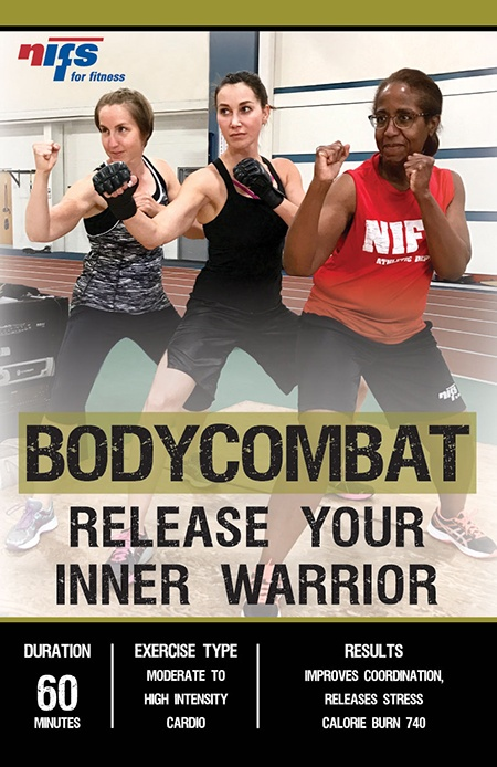 NIFS July Group Fitness Class of the Month: BODYCOMBAT